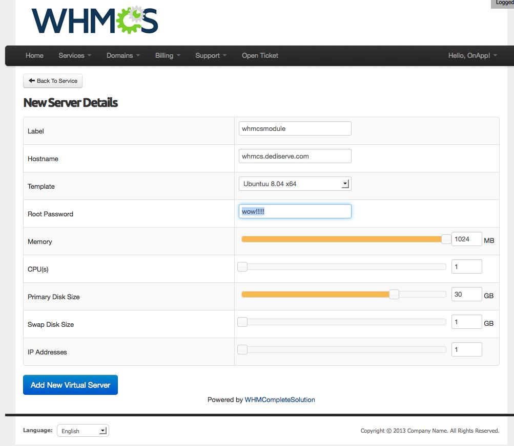 whmcs module 2