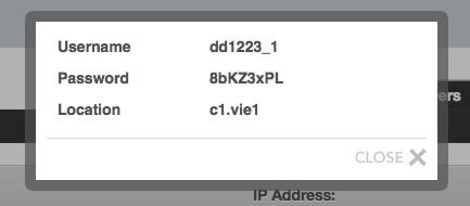 API Credentials