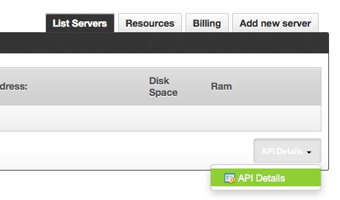 New API Button
