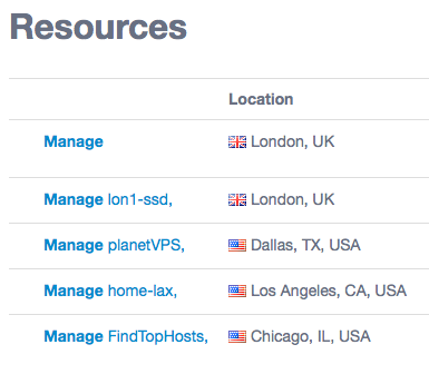 Service Tags now list on the Resources View